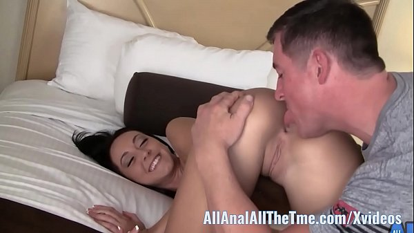 Tan Babe Sabrina Banks Gets Ass Spread and Licked for AAT! Thumb
