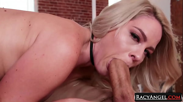 All Natural Blondie Lisey Sweet Stretches Her Hole Using Pink Dildos While Sucking Owen Gray's Cock