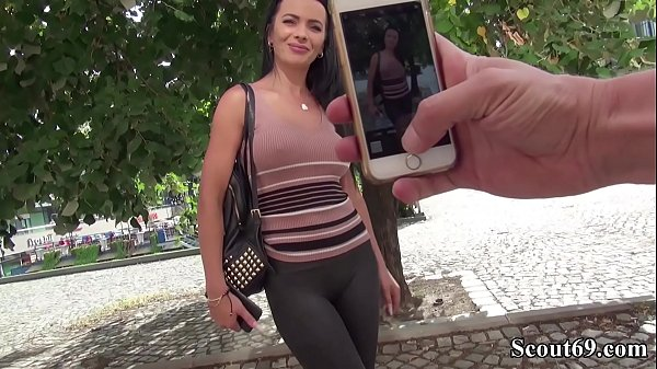 GERMAN SCOUT - MOST SEXY MODEL SHALINA DEVINE SEDCUE TO FUCK Thumb