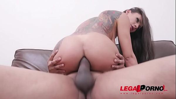Carol Fenix Vs Ed j. - balls deep anal & big ga...