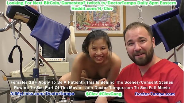 CLOV - Become Doctor Tampa & Give Gyno Exam To Bratty Raya Nguyen As Part Of Her University Physical @ GirlsGoneGyno.com