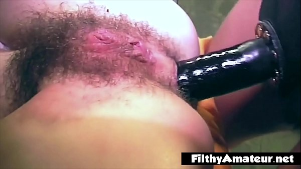 Lesbians cumming with the strapon