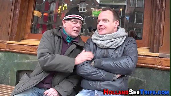 Dutch prozzie cum sprayed Thumb