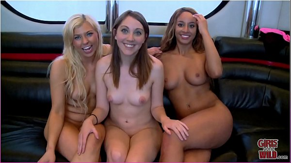 GIRLS GONE WILD - Young Lesbians Experience Thr...