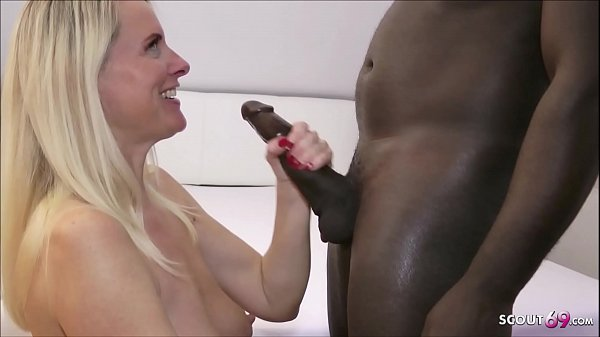 German Mom Dirty Tina Fuck by Huge Cock bbc and Deepthroat Thumb
