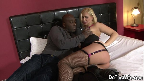 Blonde Milf Fucks Black Cock