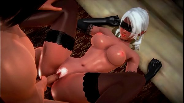 [3d HENTAI] HONEY SELECT   Horny Dark Elf   Sex...