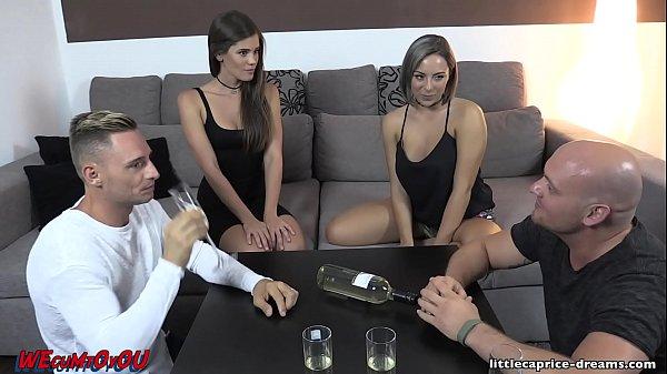 xxxฝรั่ง สองสาวขายประกัน เย็ดกับลูกค้าโรคจิต