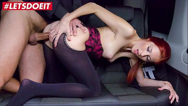 VIP SEX VAULT - Czech RedHead is a. in the BackSeat (Kattie Gold