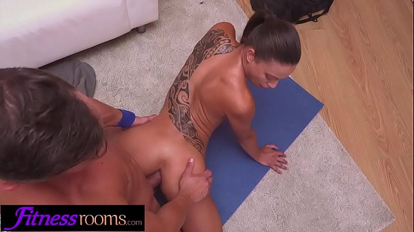 Fitness Rooms Horny firm French MILF gets ass fucking from Personal Trainer