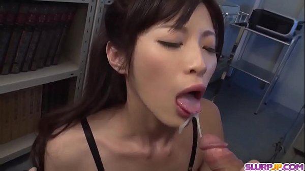 Crazy cock sucking skills from Sara Yurikawa - More at Slurpjp.com