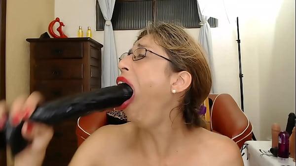 Very messy blowjob