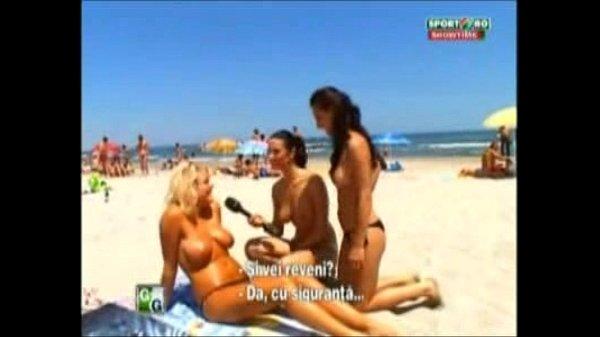 Goluri si Goale ep 10 Gina si Roxy (Romania naked news)
