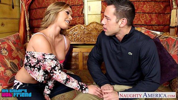 Sweet blondie Kennedy Leigh taking cock