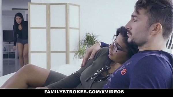 FamilyStrokes - Hot Latin Twin Sisters (Sheyla) (Keysha) Compete For Cock