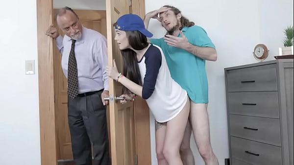 Hot Teen Sister Piper June Sucking Her Step Bros Dick