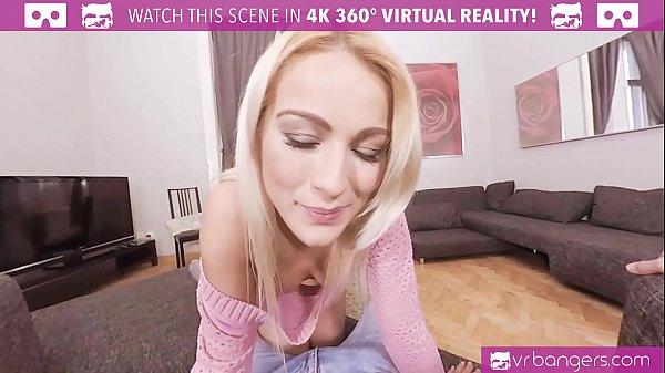 VRBangers.com Cherry Kiss take a big dick in he...