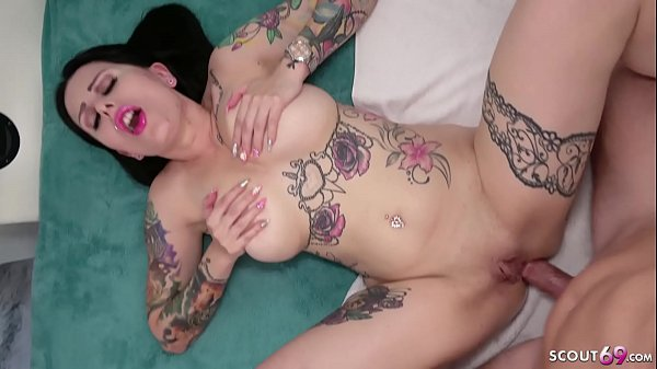 Rough Creampie Anal Sex for Big Boobs German Ho...
