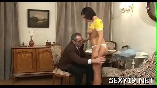 Sweet girl gets a wild drilling from lustful old teacher  thumbnail