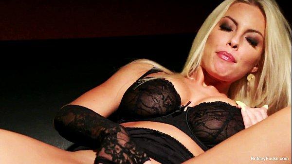 Busty Britney Amber Masturbates