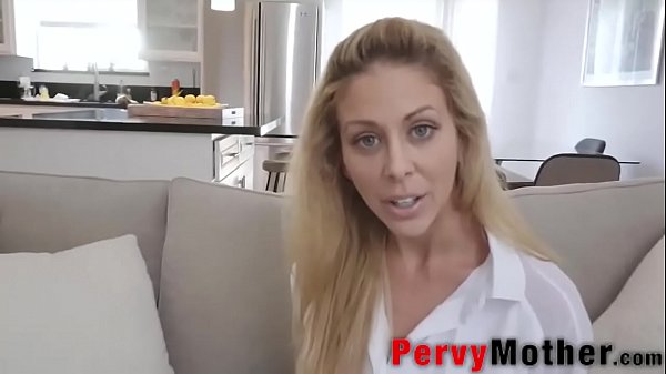 PervyMother.com: Perv Housewife Milf Bites Pillow Thumb