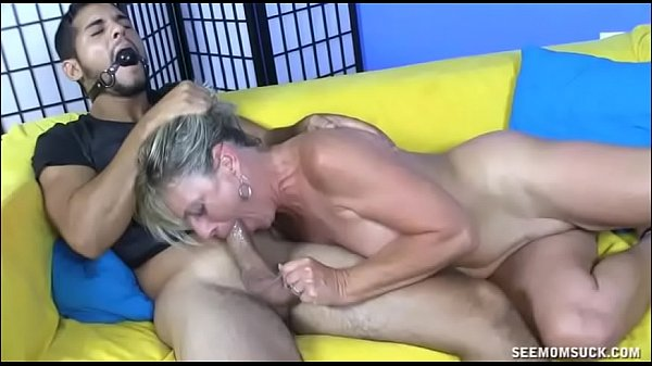 Dominant Milf Pulls Out Young Cock And Starts S...