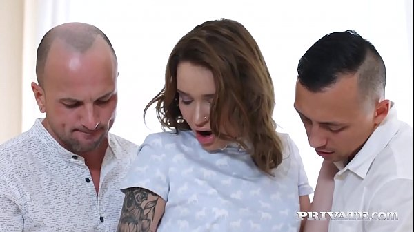 Private.com - Inked Teen Shelley Bliss DPd By 2 Hard Cocks!