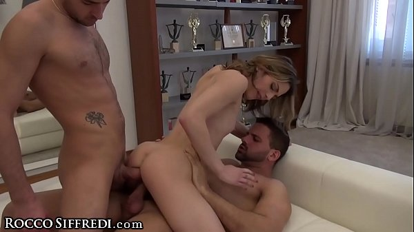 RoccoSiffredi French Teen Girl Takes 2 Cocks Ca...