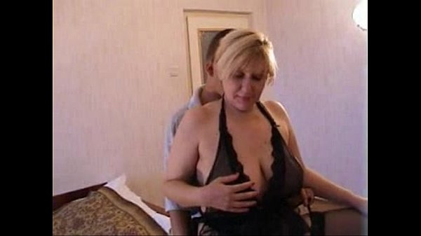 Russian Blonde Mom and son Next Door Thumb