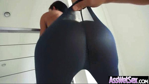 Hard Anal Bang With Big Round Wet Oiled Butt Girl (jewels jade) vid-16