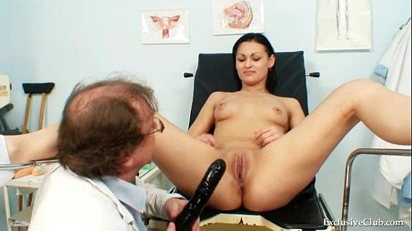Brunette Pavlina Vagina Exam By Old Doctor At Clinic Thumb