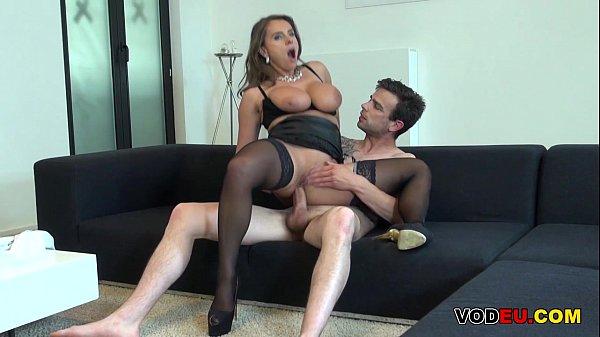 Busty MILF gets anal pleasure