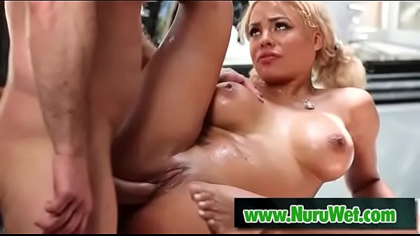 Busty Luna Star rides big cock in jacuzzi