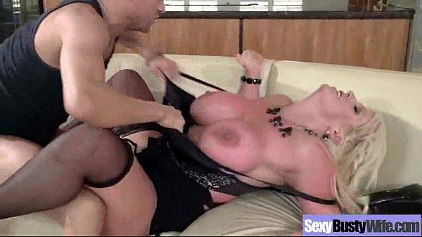 Housewife (alura jenson) With Big Juggs In Hard...