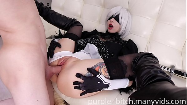 2B ANAL and pussy fuck with Creampie Teen young...