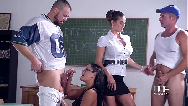 DDF Network Sex Education 5 Nymphos Fucked senseless