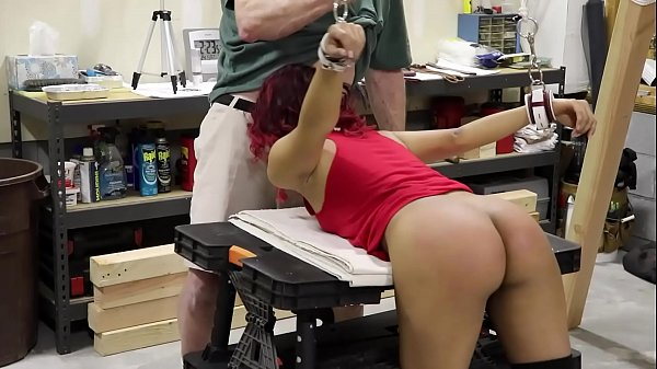 Sarah Lace (Part 1) Anal Blowjob Bondage Fucked and Flogged ATM