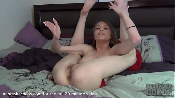 super hot local student getting naked for the first time on camera