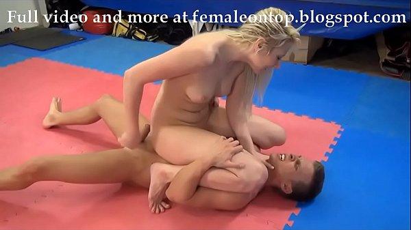 Sexy femdom wrestling