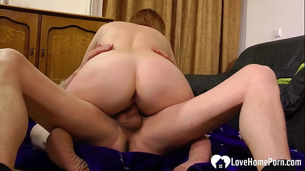 Mature beauty fucks on camera first time ever