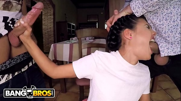 BANGBROS - Hot Young Waitress Apolonia Working ...
