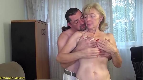 ugly 82 years old grandma needs extreme hard