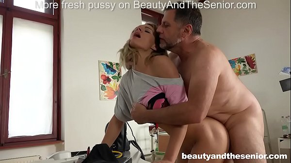 Lara West seduces old doctor Philippe Soine int...