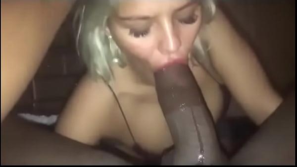 White Teen Sucking Black Dick