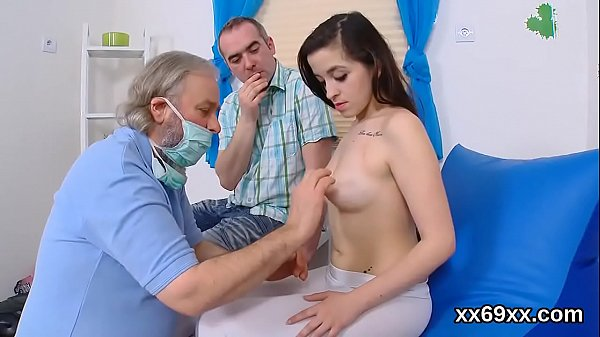 Physician assists with hymen physical and deflo...