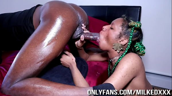 Pegging the Cum Out of him