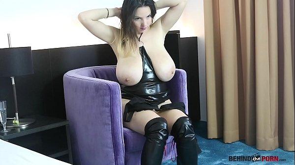 Talia Amanda Huge tits star Behind Scene compilation Thumb