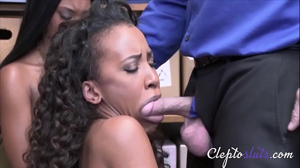Ebony Girls Force To Take Cop's Cock- Demi Sutra & Lala Ivey
