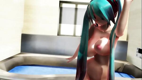Miku nackt mmd Kangxi :Kawaii