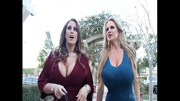 Big Titty Bitches Having A Wild Night On The Town